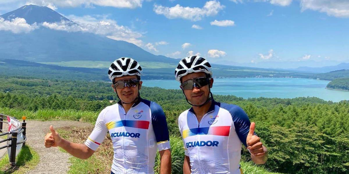 Carapaz y Narváez ya entrenaron en Japón pensando en Los Juegos Olímpicos