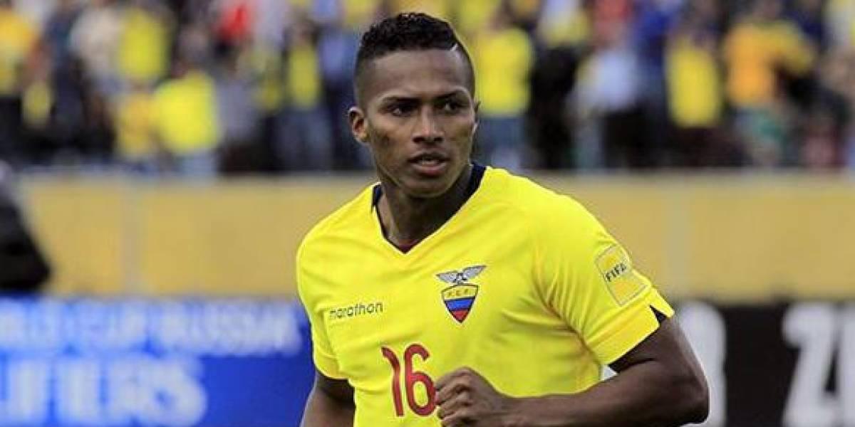Antonio Valencia critica el arbitraje en el Brasil-Ecuador