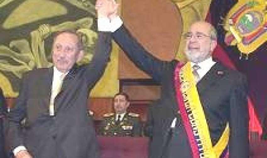 Gustavo Noboa presidente de Ecuador de 2000 a 2003