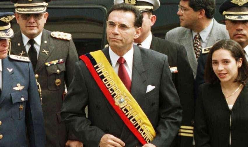 Jamil Mahuad presidente de Ecuador (1998 al 2000)
