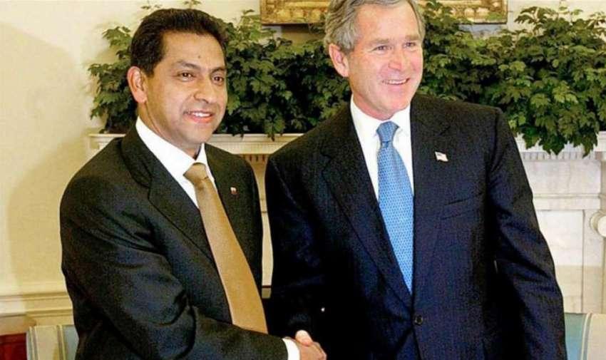 Lucio Gutiérrez, uno de los últimos presidentes de Ecuador en realizar una visita a EE.UU.