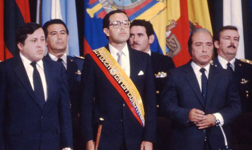 Osvaldo Hurtado, Presidente del Ecuador, 1981