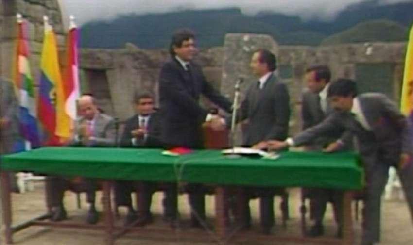 Reactivación del Pacto Andino - Rodrigo Borja 1990