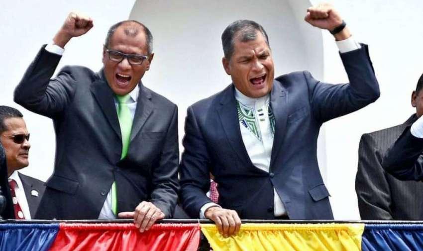 Presidente Rafael Correa y el Vicepresidente Jorge Glas, 2013