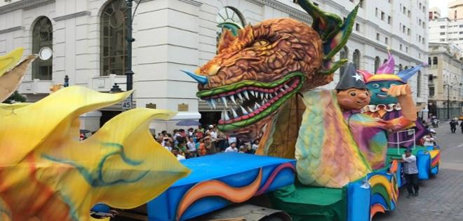 GUAYAQUIL.- El desfile se realizará el sábado 14 de febrero.