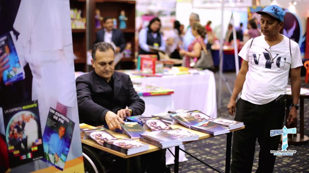 GUAYAQUIL.- El evento constituyó un encuentro cultural donde se dieron cita autores nacionales e internacionales.