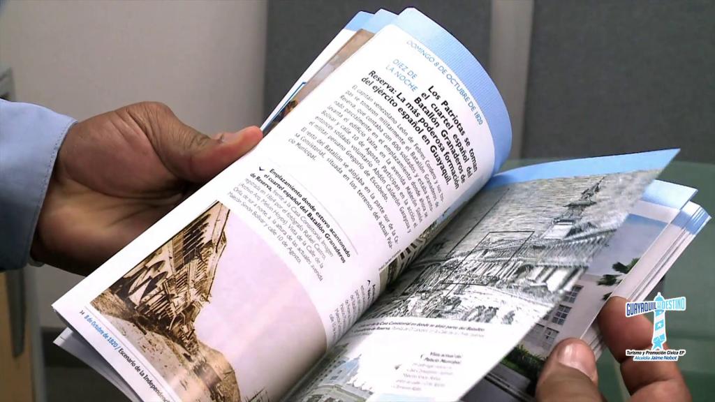 En las 131 páginas se propone a los turistas visitar los diferentes lugares donde se llevó a cabo esta revolución.