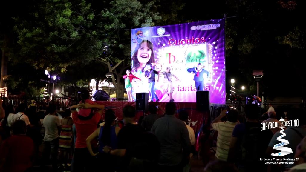 Para despedir el año 2015 la ciudad de Guayaquil vivió una gran fiesta.