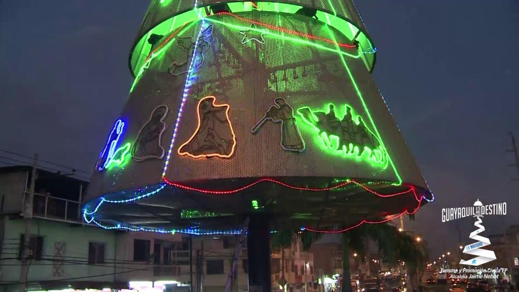 Guayaquil disfrutó de un amplio programa para festejar la Navidad llena de sorpresas.
