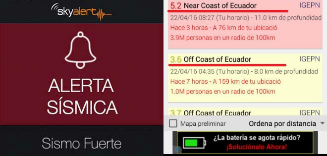 7716c200996 Aplicaciones que te alertan sobre sismos en tu zona