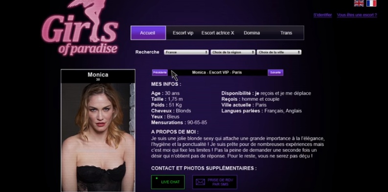 Servicios sexuales, nude women in skirts