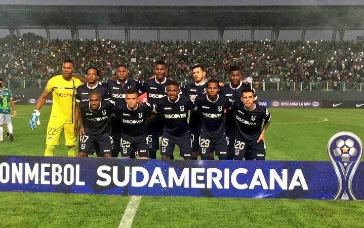 Resultado de imagen para universidad catolica ecuador copa sudamericana