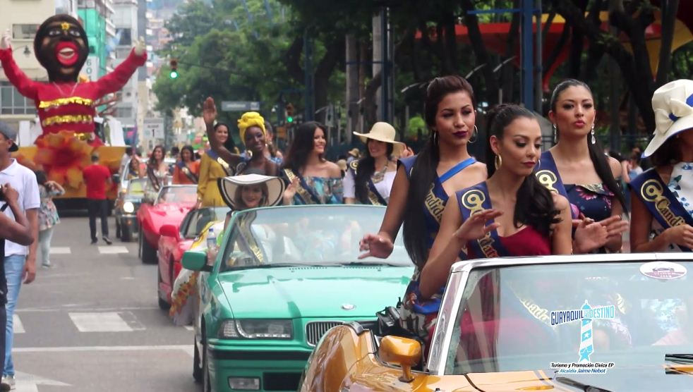 Febrero fue un mes de fiesta para Guayaquil, que disfrutó junto a desfiles y shows artísticos el Carnaval.
