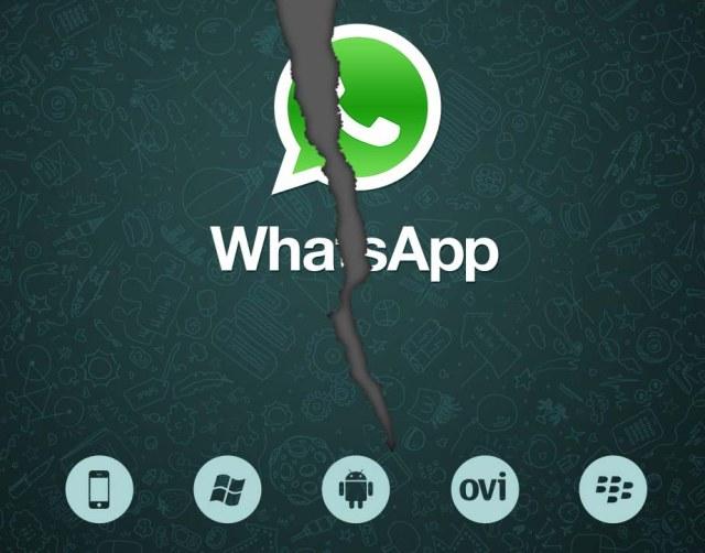 De nuevo caida de whatsapp