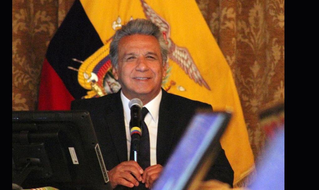 El Presidente Moreno reveló las cifras de la deuda histórica en cadena nacional.