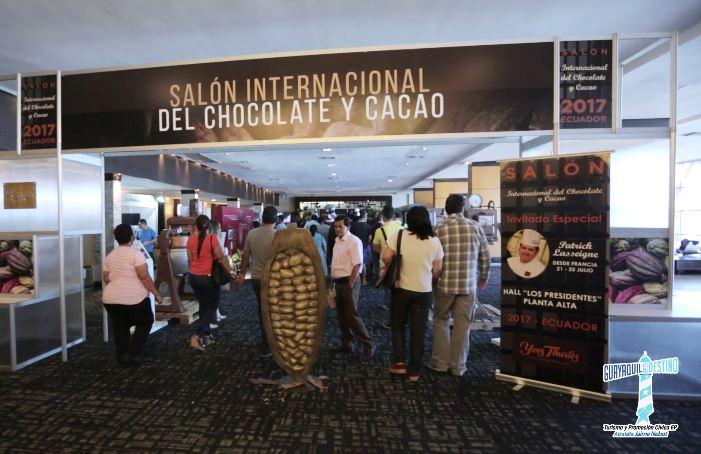 El Salón contó con la presencia de chefs de la Academia Francesa del Chocolate, que durante 5 días brindaron conferencias y charlas.