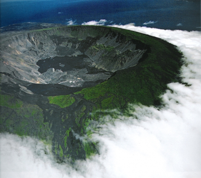 Sierra Negra Volcano - Isabela Island - The Galapagos islands