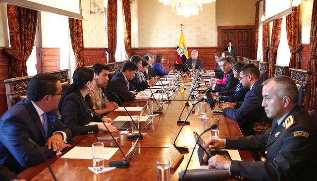Consejo de seguridad se re ne por atentado en esmeraldas for Ministerio del interior en guayaquil