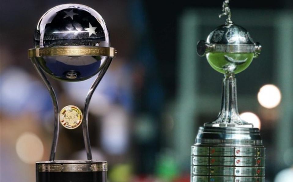 Resultado de imagen para Copa sudamericana libertadores trofeos