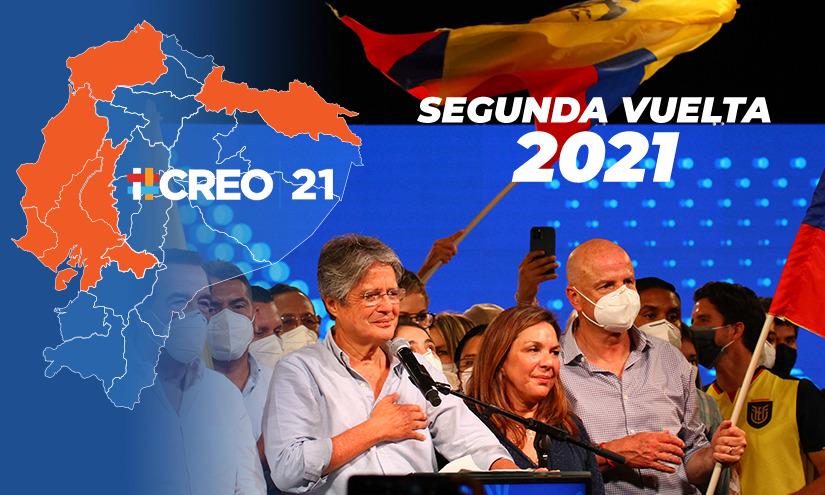 Lasso se llevó las provincias que en la primera vuelta respaldaron a Yaku Pérez