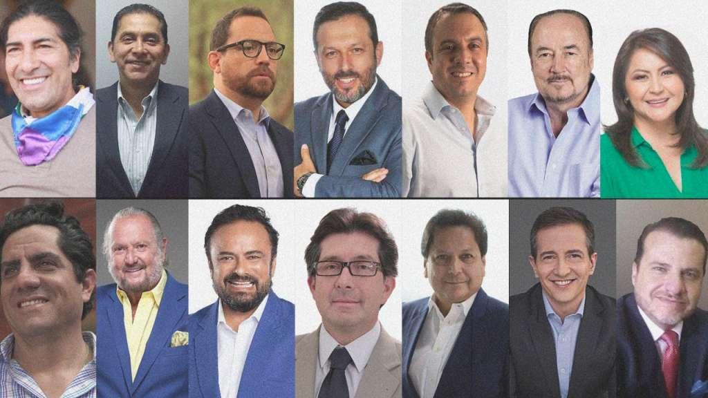 Los 14 candidatos que no llegaron en la segunda vuelta concentraron el 47,53% de los votos