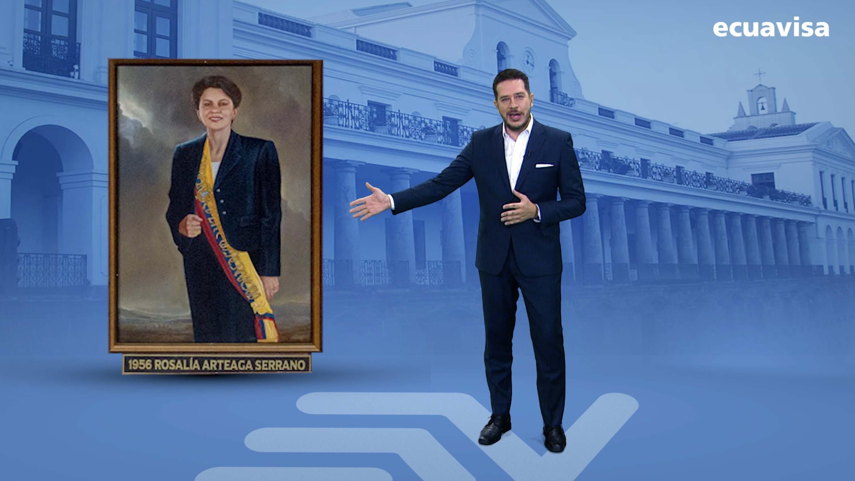 ¿Por qué Rosalia Arteaga no fue presidenta tras la salida de Abdalá Bucaram?