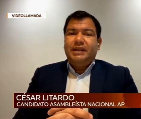 César Litardo.