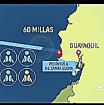 A unas 60 millas de la península de Santa Elena el barco presentó problemas. - Foto: Reportaje