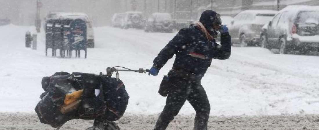 tormenta invernal en Nueva York / Fotos: AFP