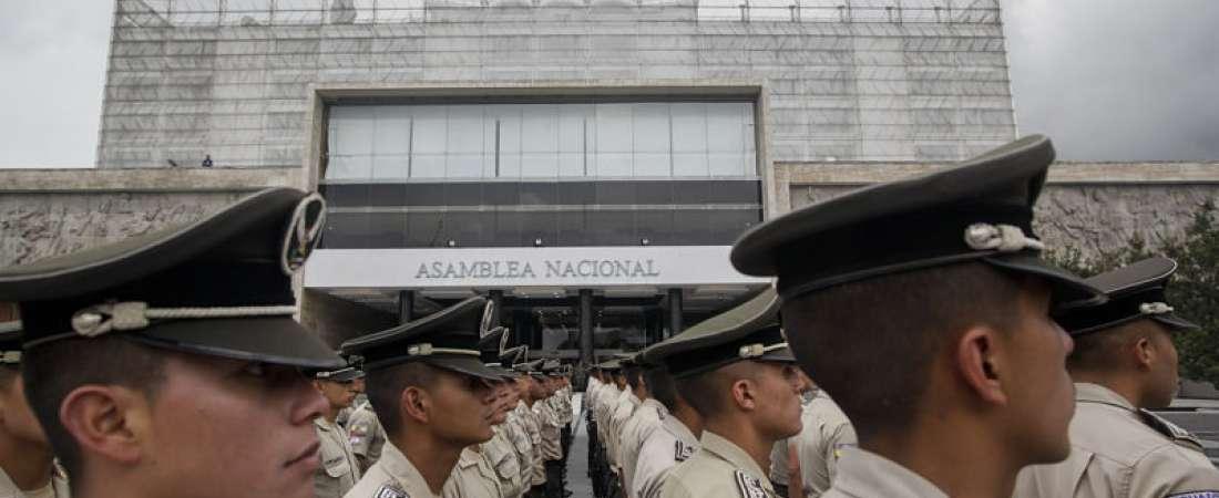Alistan Asamblea Nacional para informe a la nación. Foto: Juan Diego Montenegro/API.