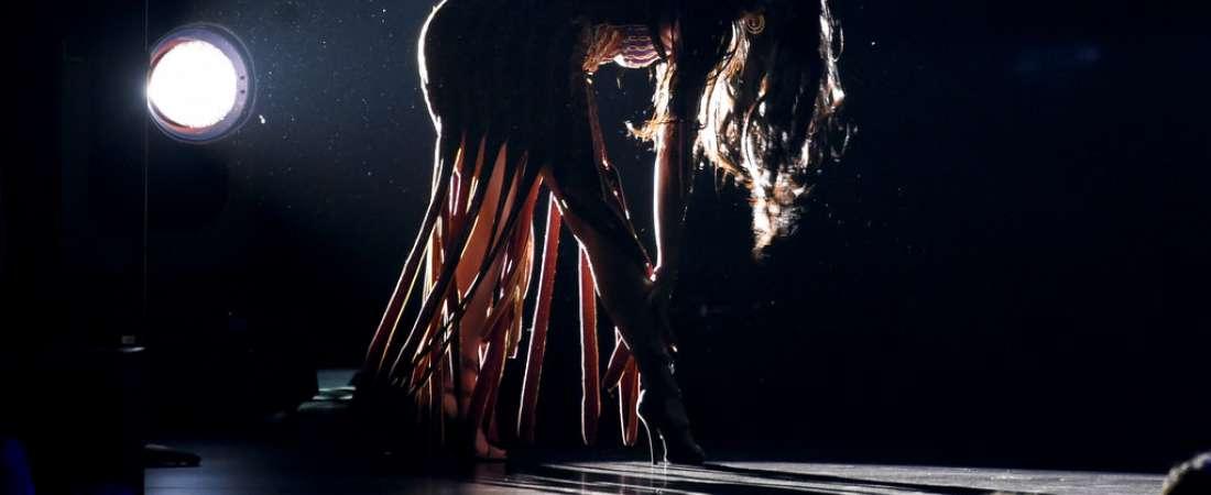 """Beatriz Luengo interpreta """"Corazón espinado"""". Foto: AP."""