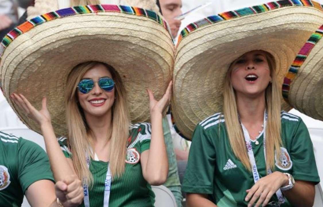 Portugal y México en el Kazán Arena de Kazan el 18 de junio de 2017