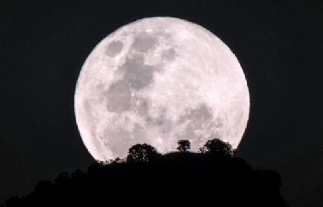 "La extraña ""Luna azul super sangre"" /Fotos: AFP"