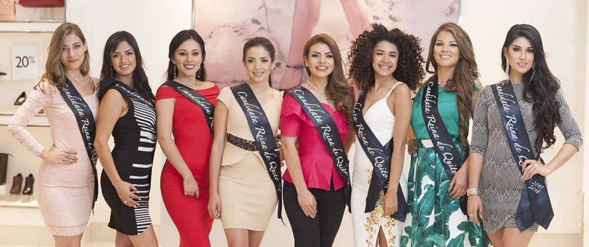 Presentación de las candidatas en el Hotel Quito.