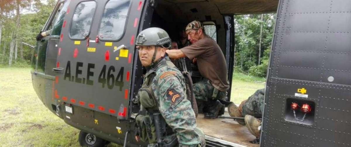 Mandatario dispuso que representantes de Ministerios se trasladen a zona de conflicto. Foto: Twitter Betsy Carriel