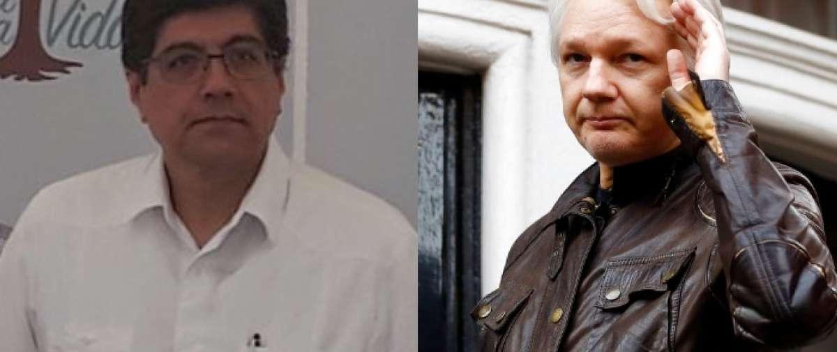 ECUADOR.- Según Valencia, el protocolo sobre Assange cumple estándares internacionales y ley ecuatoriana. Collage: Ecuavisa