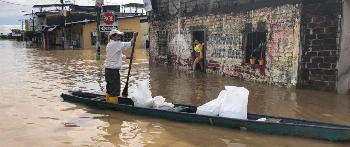 Guayas, El Oro y Los Ríos se suman a Manabí como las provincias más afectadas por el invierno. Foto: Fernando Monroy