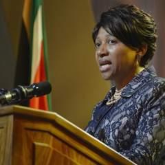 Nandi pronunció estas palabras durante el funeral de Estado que se celebró en la aldea de Qunu, en el sureste de Sudáfrica. Foto: EFE.