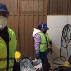 Dallyana Passailaigue fue parte de los 2.266 recicladores que tiene Quito.  Foto: Cortesía Dallyana Passailaigue.