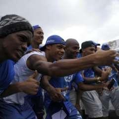 GUAYAQUIL, Ecuador.- Los jugadores festejaron el título en un restaurante al norte de la ciudad.