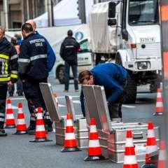BRUSELAS, Bélgica.- En los atentados de la terminal aérea de Bruselas fallecieron al menos 14 personas. Foto: AFP
