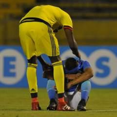 'Cafeteros' y 'cariocas' empataron 0-0 en la última fecha del Sudamericano. Foto: API