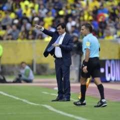 Gustavo Quinteros había anunciado días atrás que no iba a convocar jugadores que militan en Europa. Foto: Archivo