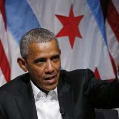 """Entorno del expresidente justificó su participación en la conferencia por el """"Obamacare"""". Foto: AFP"""
