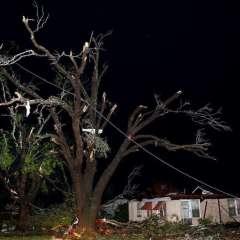 El estado reportó cerca de 100 evacuaciones y unas tres docenas de rescates. Foto: El Clarín