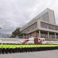 QUITO, Ecuador.- A la ceremonia de cambio de mando presidencial acudirán 179 invitados confirmados. En la gráfica, el ensayo previo a la ceremonia efectuado el lunes 22. Foto: API.