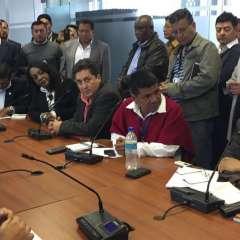 QUITO, Ecuador.- El asambleísta por el movimiento SUMA, Héctor Yépez, presidirá la comisión legislativa. Foto: API