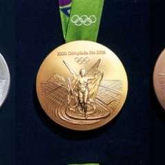 Las medallas entregadas en los Juegos Olímpicos de Río 2016 se están oxidando.
