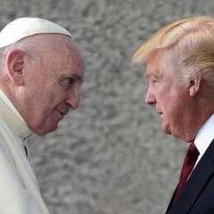 El presidente estadounidense será recibido por primera vez en el Vaticano por el Papa. Foto: El Debate.