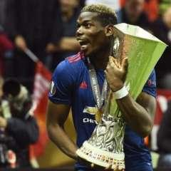 Paul Pogba hizo el primero de los dos goles con los que el United venció al Ajax. Foto: AFP